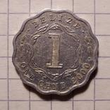 Белиз. 1 цент 2000 года, фото №3