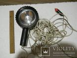 Прожектор рабочий, работает от автоприкуривателя, длина провода 9,5 м., фото №2