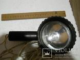Прожектор рабочий, работает от автоприкуривателя, длина провода 9,5 м., фото №3