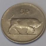 Ірландія 5 пенсів, 1982