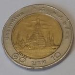Таїланд 10 батів, 1989