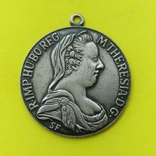 Кулон  Марія Тереза. Срібло   14,6 грам., фото №2
