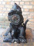 Каминные часы Медведь Касли, фото №2