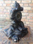 Каминные часы Медведь Касли, фото №3
