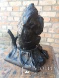 Каминные часы Медведь Касли, фото №4