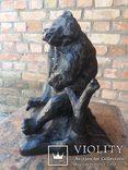 Каминные часы Медведь Касли, фото №6