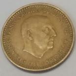 Іспанія 1 песета, 1966
