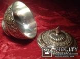 Блюдо для икры / покрытие серебром /., фото №5