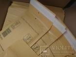 Бандерольный конверт А11 100х160, 50 шт. Польша, желтые фото 3