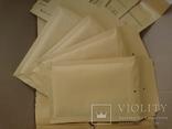 Бандерольный конверт А11 100х160, 50 шт. Польша, желтые фото 4