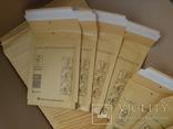 Бандерольный конверт А11 100х160, 50 шт. Польша, желтые