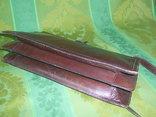Сумка- клатч кожаная старинная брендовая Etienne Aigner, фото №6