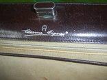 Сумка- клатч кожаная старинная брендовая Etienne Aigner, фото №8