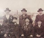 1916,Одесса, Группа инженеров на фоне порта, фото №5