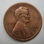 США 1 цент 1984 года.D, фото №2