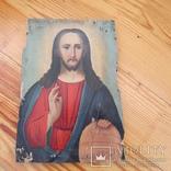 Икона Иисуса (писаная), фото №2