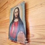 Икона Иисуса (писаная), фото №3