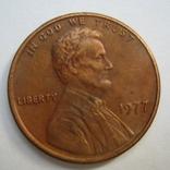 США 1 цент 1977 года., фото №2