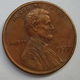 США 1 цент 1977 года., фото №5