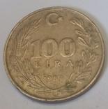 Туреччина 100 лір, 1987