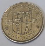 Маврикій 1 рупія, 1997 фото 2