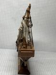 Винтажная деревянная модель корабля с Англии  H.M.S. Bounty, фото №6
