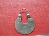 Серьга 1 шт. (серебро 84), фото №5