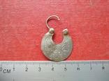 Серьга 1 шт. (серебро 84), фото №6
