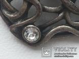 Пуговица ажурная серебрение 3 шт 60-е, фото №6