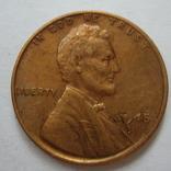США 1 цент 1945 года., фото №2