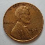 США 1 цент 1945 года., фото №4