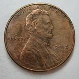США 1 цент 2014 года., фото №2