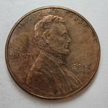 США 1 цент 2014 года., фото №3