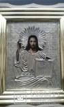 Икона Иисуса Христа в ознаменование отмены крепостного права,1861 г., фото №2