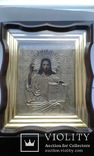 Икона Иисуса Христа в ознаменование отмены крепостного права,1861 г., фото №3