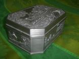 Шкатулка пейзажная из тяжёлого металла Европа, фото №3
