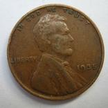 США 1 цент 1935 года., фото №3