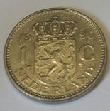 Нідерланди 1 гульден, 1980