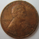 США 1 цент 1974 года., фото №2