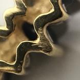 Колье золото бриллианты сапфиры, фото №7