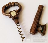 Штопор Ключ Днепропетровск 200 лет 1776-1976 Corkscrew Key Bottle Opener, фото №8