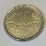 Бразилія 10 сентаво, 1997