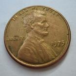 США 1 цент 1975 года., фото №2