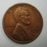 США 1 цент 1950 года.D, фото №2
