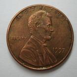 США 1 цент 1997 года., фото №3