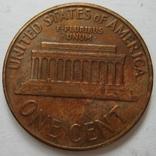 США 1 цент 1961 года.D, фото №6