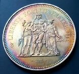 50 франків 1977 р. Геркулес. aUNC, фото №2
