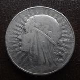 5  злотых  1933  Польша  серебро  (А.5.5)~, фото №2