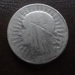 5  злотых  1934  Польша  серебро  (А.5.8)~, фото №2