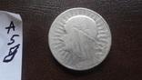 5  злотых  1934  Польша  серебро  (А.5.8)~, фото №4
